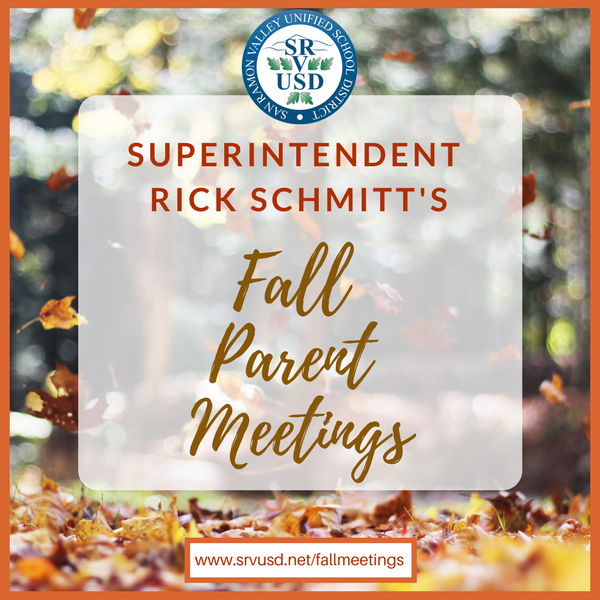 Superintendent Fall Meetings